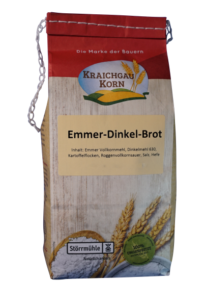 Backmischung Emmer Dinkel Brot